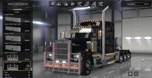 2018 kenworth w900 kenworth w900 tri drive custom mod by bu5ted american truck