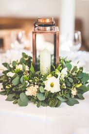 Table Flower Arrangements Best 25 Greenery Centerpiece Ideas On Pinterest Green Wedding