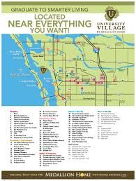 Map Of The Villages Florida by University Village In Sarasota Fl By Medallion Home