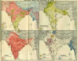 Religions Of The World Map by Gazetteer And Maps