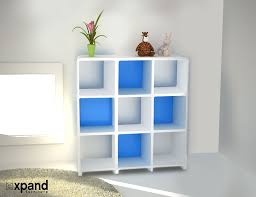 White Bookcase With Drawers by Storage Bookcase With Modular Design Expand Furniture