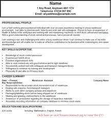 Personal Statement Examples Retail   Job and Resume Template     Resume Examples  Resume Template Microsoft Word With Personal Information And Previous Employment History As Web
