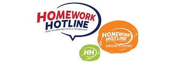 We gave the Homework Hotline logo a bit of a facelift and created a fun  fresh look for the brand