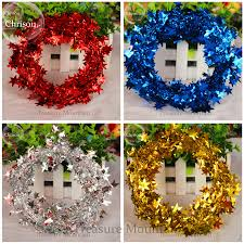 Christmas Tree Decorations Blue And Silver Tinsel Christmas Tree Promotion Shop For Promotional Tinsel