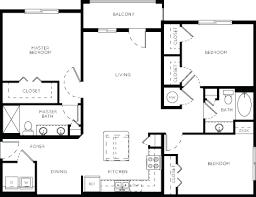 3 Bedroom Apartment Floor Plan Luxury Apartment Floor Plans 33 West