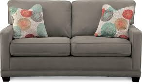Lazy Boy Furniture Outlet Transitional Apartment Size Sofa By La Z Boy Wolf And Gardiner