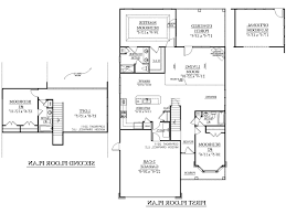 Mid Century Modern House Plan Story House Floor Plans Full Hdsouthern Heritage Home Designs