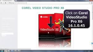 corel videostudio pro x6 16 with keygen free download