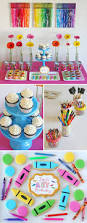 Background Decoration For Birthday Party At Home Best 20 Art Party Decorations Ideas On Pinterest U2014no Signup