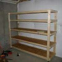Simple Free Standing Shelf Plans by Storage Shelves Plans Free Dynaboo Co