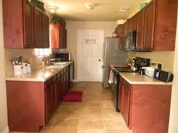 Traditional Kitchen Designs Kitchen Antique Galley Kitchen Design With Distressed Cabinet