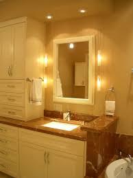 Bathroom Mirror Design Ideas Bathroom Mirror And Lighting Ideas
