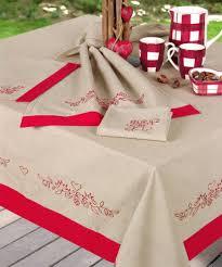 nappe ronde enduite 160 nappe rectangulaire coton 160x300cm chalet