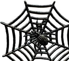 Vintage Halloween Printables by Vintage Halloween Spider Image With Web The Graphics Fairy