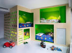 Bedroom Design: Cool Toddler Boys Bedroom Play Area Large Ball ...