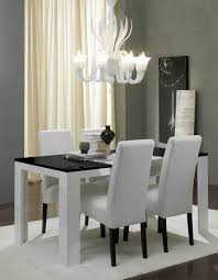 emejing black and white dining room sets photos home ideas