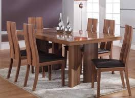 contemporary wood dining table dinning room contemporary wood