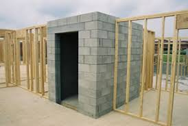Building A Concrete Block House Disaster Resistance Disaster Resistant Buildings Durable Building