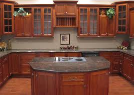 cherry cabinets in kitchen cherry shaker kitchen cabinets home design traditional kitchen