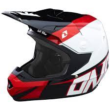 motocross dirt bikes one industries mx gear atom bolt black red motocross dirt bike
