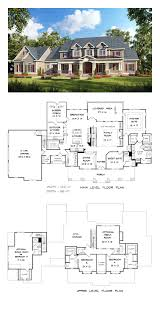 House Plans 5 Bedrooms Country Craftsman Farmhouse Southern Traditional House Plan 58272