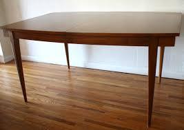Mid Century Modern Surfboard Dining Table Picked Vintage Dining - Century dining room tables