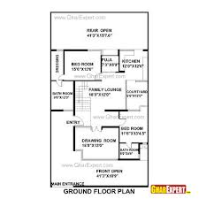 2800 Square Foot House Plans House Plan For 40 Feet By 70 Feet Plot Plot Size 311 Square Yards