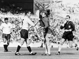 Dave Mackay Grabs Billy Bremner of Leeds by His Shirt in Match ... - dave-mackay-grabs-billy-bremner-of-leeds-by-his-shirt-in-match-against-tottenham