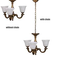 3 Light Ceiling Fixture Classic Luxury Chandelier Lighting Ceiling Light Lamp 3 Lights