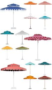 Teak Patio Umbrellas by Best 25 Outdoor Umbrellas Ideas On Pinterest Cushions For