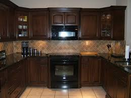 Kitchen Backsplash Cherry Cabinets by Kitchen Backsplash Cherry Cabinets White Counter Kitchen Crafters