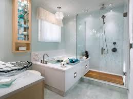 Jetted Tub Shower Combo Bathroom Cream Veneer With White Acrylic Corner Whirlpool Tub