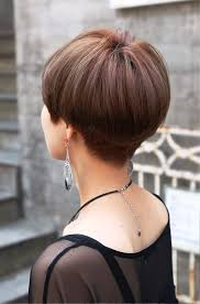 pictures of back view of cute short japanese haircut