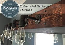 diy industrial light fixture snazzy little things