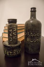Halloween Apothecary Jar Ideas Diy Halloween Apothecary Jars