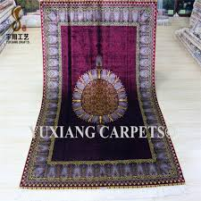 Islamic Prayer Rugs Wholesale Yuxiang4 5x6 5ft Wholesale Indian Carpets Prices Purple Pattern