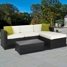 Patio Furniture From Walmart - exterior beige cape may wicker with beige cushions and whtie