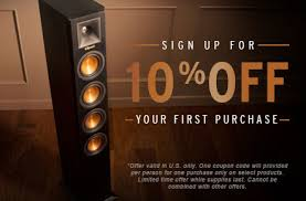 Speakers  Headphones  amp  Home Audio   Klipsch  Stay up to date with Klipsch