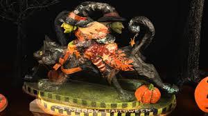 bethany lowe witch u0027s midnight ride black bow halloween shoppe