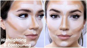 highlighting and contouring 5 steps themakeupchair youtube