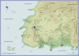 Jordan Country Map Wheel Of Time Map