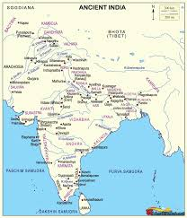 Ancient India Map by Murshidabad History History