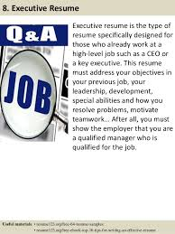 Best Executive Resume Format by Top 8 Supply Chain Consultant Resume Samples