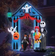 Christmas Yard Decoration Images Amazon Com Halloween 9 U0027 Nightmare Before Christmas Archway With