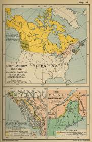 Political Map Of United States And Canada by More Historical Maps Of Canada
