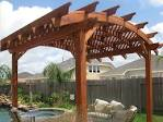 ForeverRedwood builds Arched Pergolas: An wide range of Arched ...