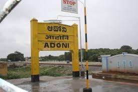 Adoni railway station