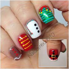 robin moses nail art cutest nail art for christmas cute son of a