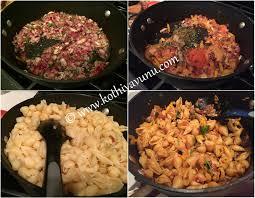 Pasta Recipes Masala Pasta Recipe Indian Style Pasta Recipe Kothiyavunu Com