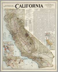 Google Maps Los Angeles by Official Railroad Map Of California 1926 David Rumsey